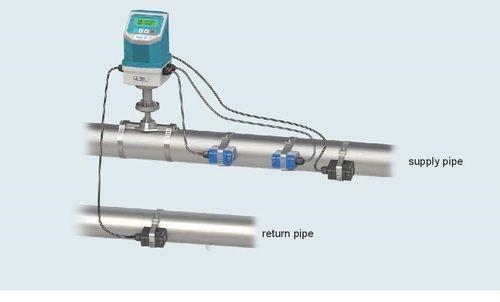 Ultrasonic Flow Meter Ultrasonic Btu Meter Clamp Type