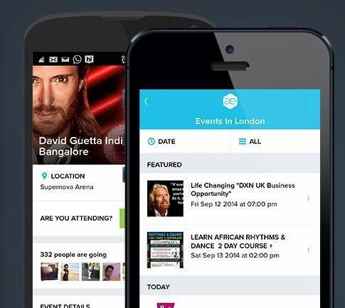 Event Discovery App, App Builder Software, App Development
