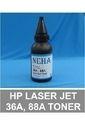 HP Laser JET 36A, 88A, Toner