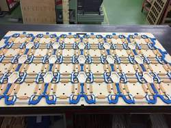 Box Cutting Dies with Rubbering