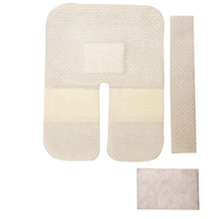 Drape With Pad & Strip For I.V. Catheter