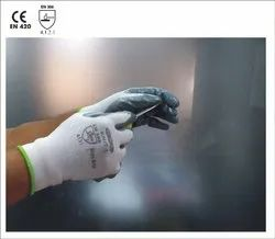 Smooth Nitrile Palm Seamless Gloves - KNIT1