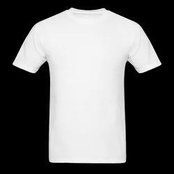 Polyester Plain Sublimation T-Shirts Round Neck