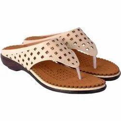 ARAV-IND Ladies Casual Wear Flats Sandal, Size: 4-8