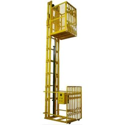 2 Channel Hydraulic Goods Lift