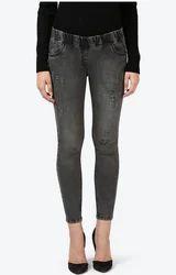 Denim Park Avenue Woman Woman Black Skinny Fit Jeans, Waist Size: 32