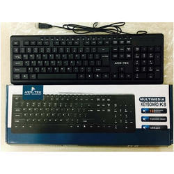 Black Avertek Keyboard