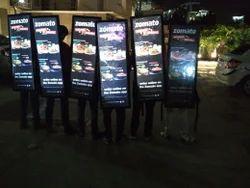 Look Walker Human Billboard
