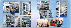 Double Colors Roll Paper Flexo Printing Machine