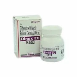 Didanosine Delayed Release Capsules 250 mg