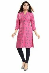 3/4th Sleeves Cotton Kurti