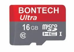 Bontech Ultra 64 Gb Memory Card With 6 Month Guarantee, For Laptop, Memory Size: 16GB