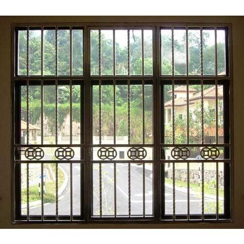 Mild Steel Window Grill At Rs 350 Square Feet Ms Grill नरम