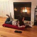 Relaxing Meditation and Yoga Floor Chair Outdoor Indoor Adjustable Soft Cushion