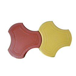 Outdoor Red,Yellow Cosmic Interlocking Pavers, For Pavement
