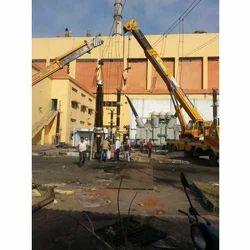 Transformer Erection work