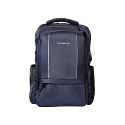 Vamsum Fabric, Pu Laptop Backpack, Capacity: 20 L, Size: W*H*- 14*22*INCH