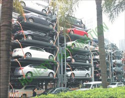 Rotary Type Car Parking System
