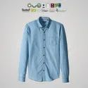Chetna Organic Cotton Mens Chambray Shirts