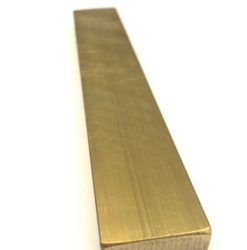 Brass Rectangle Flat