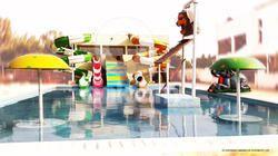 Water Park Playground Combination Slide