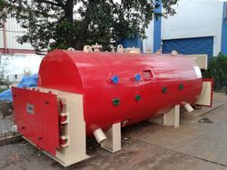 Vertical Type Oil Fired Hot Water Generator