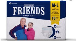 Premium Friends Diapers Pants