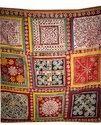 Vintage Handmade Ralli Quilt