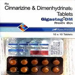 Cinnarizine and Dimenhydrinate Tablets