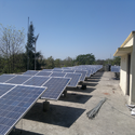 Rooftop Solar Power Plant 11 - 25 kW on RCC Roof
