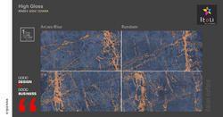 Arcaro Blue Tiles, Size: 600x1200 Mm