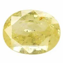 Clarity Natural Ceylon Yellow Sapphire