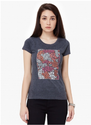 Max Graphic Print Short Sleeves Top