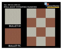 Bullet Full Body Vitrified Parking Tiles