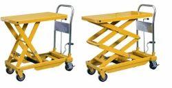 Scissor Lift Platform Table Trolley