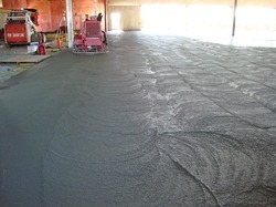 Screeding For Restoration Concrete Roads
