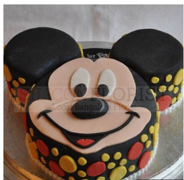 Mickey Mouse Design Cake Services Silicon Florist Bengaluru Id