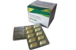 Metformin HCL 500mg (ER) Glimepride 1mg Bilayered