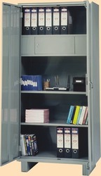 Afm Graphite Gray Minor Cupboard With Single Locker