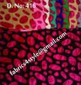 Velvet Embroidered Fabrics