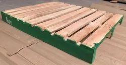Industrial Hardwood Pallet