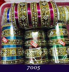 Stone Studded Indian Fashion Bangles