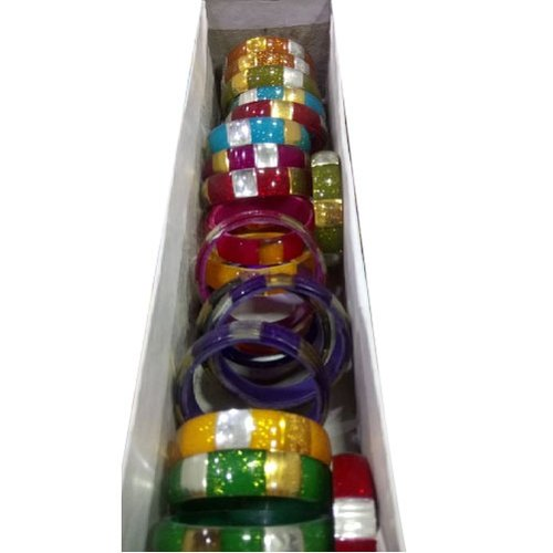 Multicolor Round Kids Plastic Bangle Set, Size: 0.6 0.8 1.0 1.2 1.4 2.0 Inch