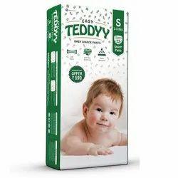 Cotton Plain Easy Teddyy Small Baby Diaper Pant