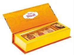 Paper Golden Diwali Pooja Box, Re.228