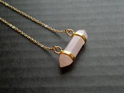 Rose Quartz Gemstone Pendant