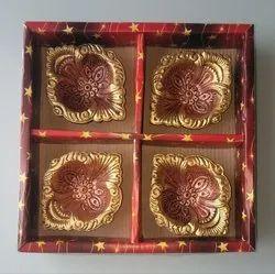 Set Of 4 Diwali Diyas