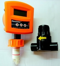 Flocounter Plus Battery Operated Water and Oil Flow Meter Combo