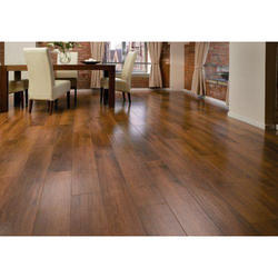 Brown Laminated Flooring