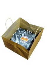 Folding Brown Pizza Box Bags, Bag Size: 11 x 11 X7 Inches